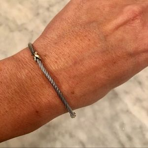 Authentic David Yurman Sterling Silver Bangle